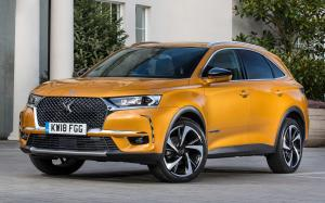 DS 7 Crossback 2018 года (UK)